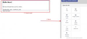 blocos e email mautic