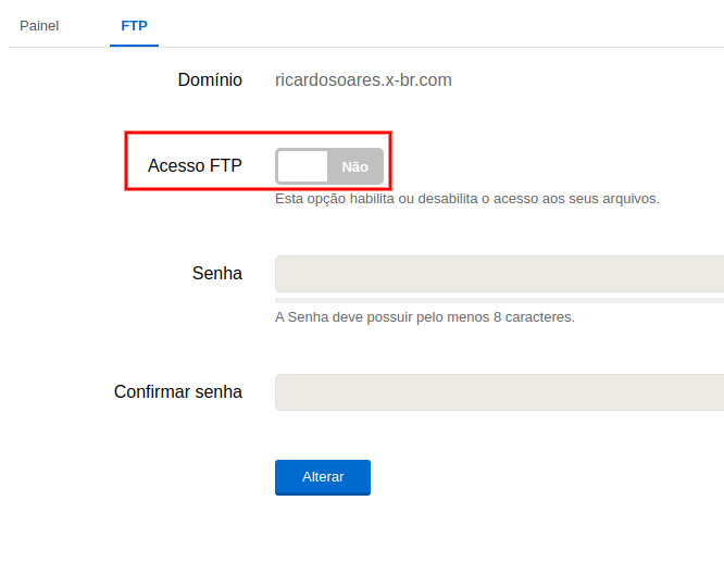 bloqueio do FTP 2