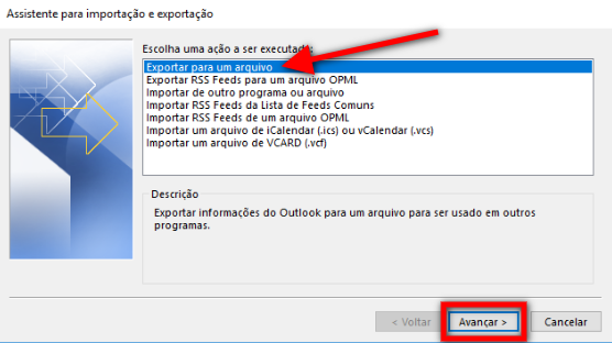 Passo 3 - assistente Outlook