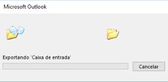 Passo 7 - Exportando as mensagens do Outlook