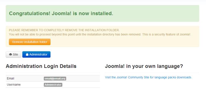 Instalação Manual do Joomla 5