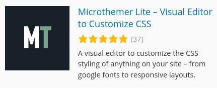 Resolvendo erro do Microthemer no WordPress